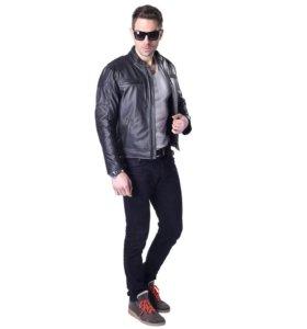 Кожаная куртка Мото Байкер