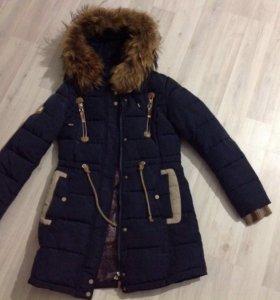 Зимняя куртка женская 42 размер S