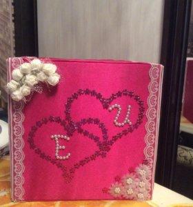 Коробка для денег. Свадебная фурнитура