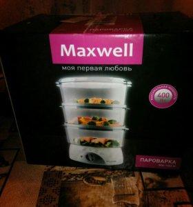 Новая пароварка Maxwell MW-1202 W