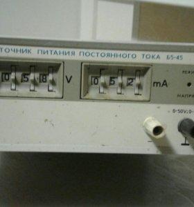 Источник питания постоянного тока Б5-45