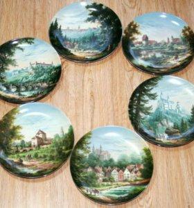 Коллекционные декоративные настенные тарелки