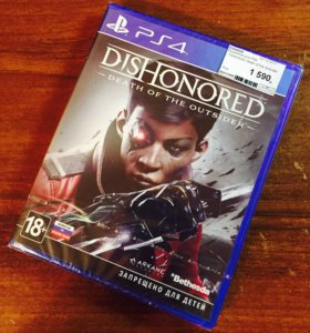 Dishonored Death of the Outsider на PS4