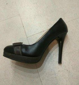 Туфли из натуральный кожи
