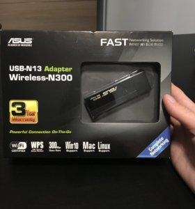 Asus usb-n 13 адаптер wifi