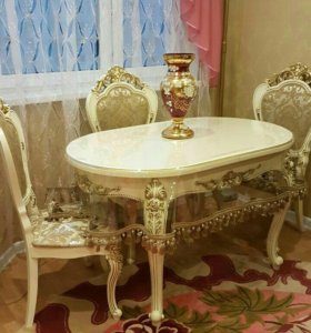 Комплект Роза юга стол +4стула