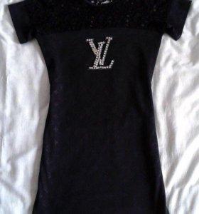 Платье стрейч луи витон
