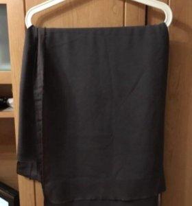 Ткань креп (летний) серый