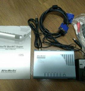 ТВ-тюнер AVerTV BoxW7 Super б/у