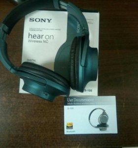 Bluetooth наушники SONY, новые