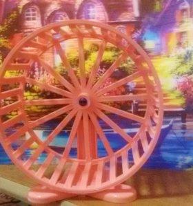 Новое колесо в клетку для хомяка (грызунов)
