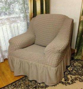 Чехлы на 2 кресла в наличии