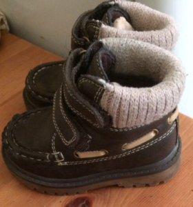 Демисезонные ботинки mothercare,21