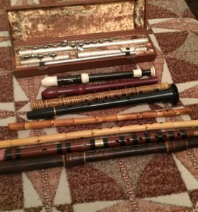 Флейты разных народностей