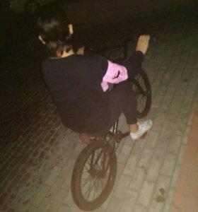 Bmx, велосипед трюковой