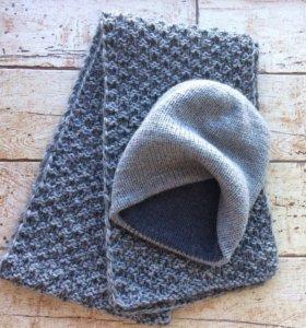Вяжу на заказ шапки бактус митенка шарфы