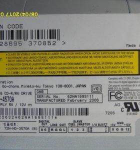 DVD/CD привод записывающий