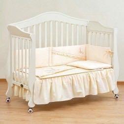 Детская кровать Giovanni Bravo Ivory, ортоматрас