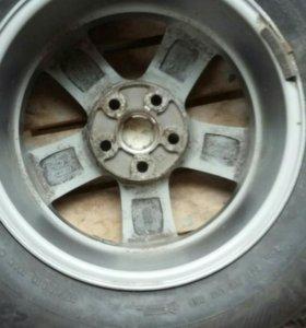Комплект 4 литье+1 штамп, колеса