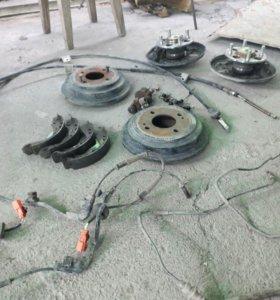 Ступицы колодки хонда