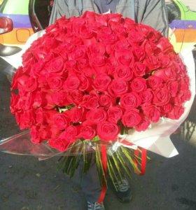 Розы 25шт, 51 шт