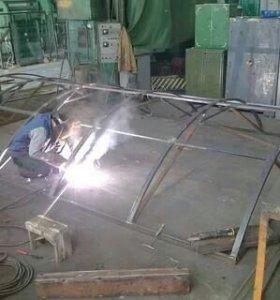 Сварные работы,металлоконструкции.