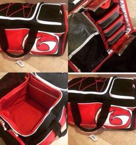 Спортивная сумка с отдел. холодильника для еды