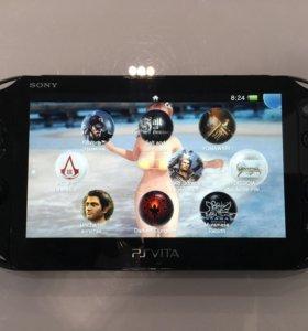 PS Vita + 25 игр+ чехол + memory cards (8/32)