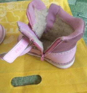 Ботинки детские зимние.