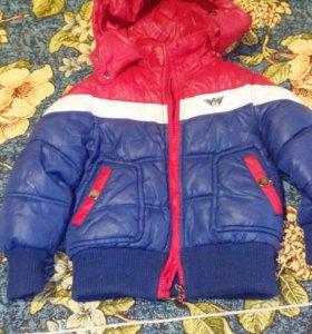 Курточка осень-весна от10мдо2лет
