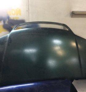 Капот и крыло на Ауди а6с5