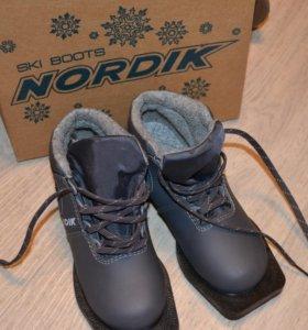 Ботинки для лыж 32 размер