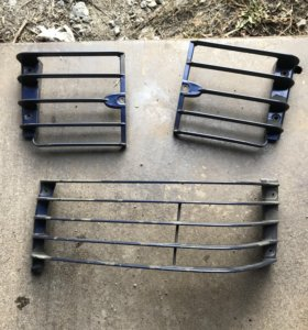 Решетки на фары для range rover