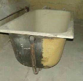 Вывоз чугунных ванн бесплатно.