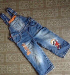 Комбинезон джинсовый, GJ,размер 92,