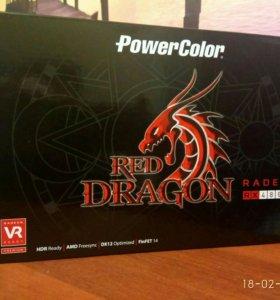 Видеокарта PowerColor red Dragon RX480 8gb