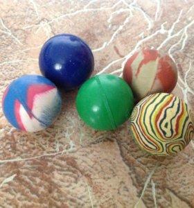 Мячики попрыгунчики 5 штук