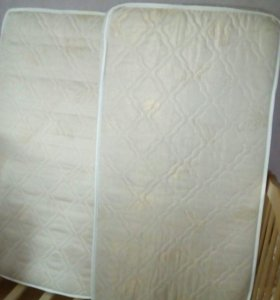 Матрас для кроватки 120x60х10