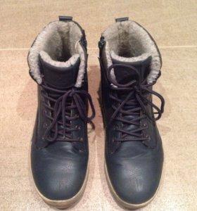 Ботинки зимние 39р-р