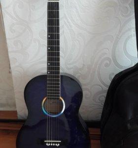 Гитара+чехол+тюнер