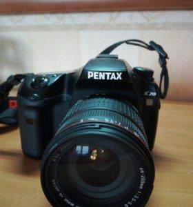 Pentax K 20D Зеркальный фотоаппарат