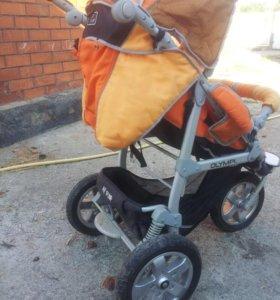 Детская коляска + велосипет