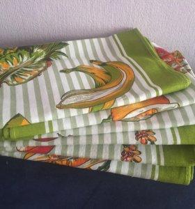 Комплект 6 шт ( скатерть/полотенца)