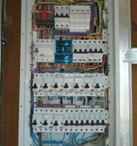 Электрик-все виды ремонтных и мотажных работ.
