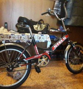 Велосипед stels pilot 420 складной