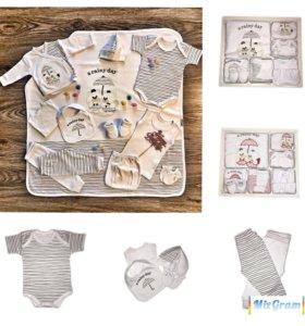 Комплект детской одежды для новорожденного