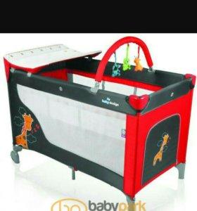 Манеж кровать Baby Design Dream