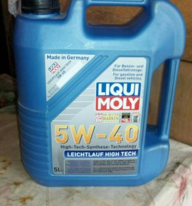 Моторное масло LIQUI MOLY Leichtlauf High T
