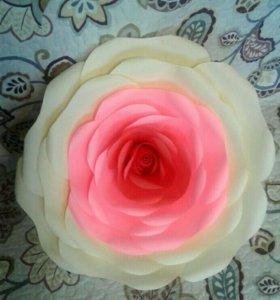 Объёмные цветы из бумаги