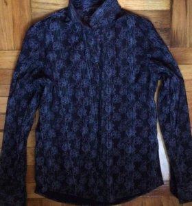 Рубашка чёрная мужская